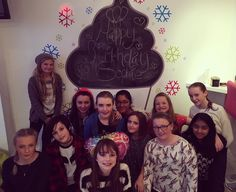 Amazing Birthday Party for Sophie's 12th birthday tonight! What a lovely group of girls!  #birthday #froyo #theyogbar #frozenyogurt #pamperparty #sophiesbirthday #girls #fun #party by theyogbar