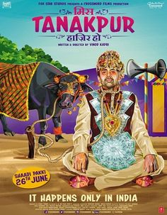 Poster Of Hindi Movie Miss Tanakpur Hazir Ho (2015) Free Download Full New Hindi Movie Watch Online At downloadhub.net