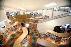 Canada Water Library AKT II... love the layout not the flooring