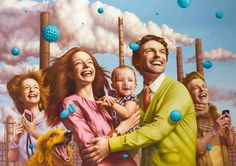 Future Tense: New Surreal Paintings by Alex Gross | Inspiration Grid | Design Inspiration