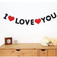 Marriage Valentine's Garland Pull Flowers Banner Letter Non-woven Propose Brace Room Decoration I LOVE YOU Christmas Party Decorations Diy, Wedding Decorations, Decor Wedding, Christmas Gifts, Flower Veil, Romantic Surprise, Banner Letters, Romantic Things, Baby Shower Parties