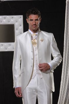 I am trying to decide what the wedding this would be worn for would look like. Mens Attire, Groom Attire, Mens Suits, Groom Suits, Blue Suit Wedding, Wedding Men, Wedding Suits, Custom Tuxedo, Tuxedo For Men
