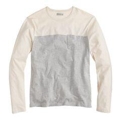 Contrast T-shirt - J Crew