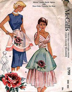 Floral aprons!