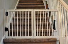 DIY gate for stairs