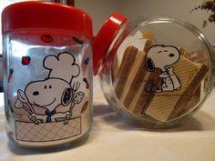 Snoopy Cakes and Sugar Jars (Trieste, Italy, 1975)