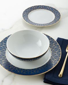 12-Piece Cosmopolitan Dinnerware Service & Dinnerware Collections Fine China Dinnerware Sets and Fine China ...