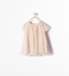 ZARA - KIDS - SHINY DRESS Happy New Year?