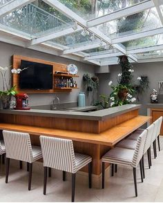 22 Kitchen Diner Extension to Prepare Invite Your Partner to Dinner - Beautiful Kitchens, House Design, Home, House Rooms, House Interior, Home Deco, Modern Kitchen Design, Interior Design, Outdoor Kitchen