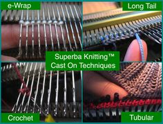 Greetings, In this post I provide an overview of the most common Methods and Techniques used to establish stitches on a home knitting ma...