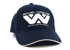 Alien  Weyland Yutani Corp Peaked Cap a0bcfc4f196d