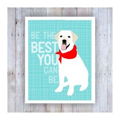 Blanc Labrador Retriever Retriever du Labrador Art par GoingPlaces2