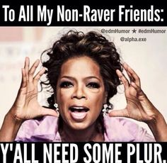 Get some PLUR #dancefestopia #plurlife