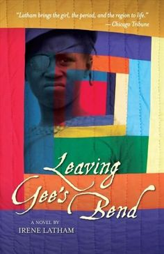 Leaving Gee's Bend - Irene Latham.   Set in 1932 & inspired by the rich quilting history of Gee's Bend, AL.    Ludelphia Bennett may be blind in one eye, but she can still put in a good stitch. She sews all the time, especially when things go wrong. But when Mama goes into labor early & gets deathly ill, Ludelphia decides leave Gee's Bend for the very 1st time to get the medicine Mamma needs that can only be found miles away in Camden.