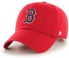569b5ac2325ca Amazon.com   MLB Boston Red Sox Men s  47 Brand Batting Practice Clean Up  Cap