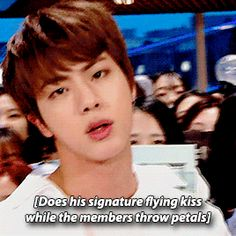 Knowing bts they were probably aiming to get them in his mouth XD