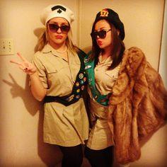 Troop Beverly Hills inspired Halloween costumes!