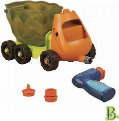 B. Toys Wywrotka z wiertarką - zestaw konstrukcyjny - Nie Lada gratka dla małego konstruktora