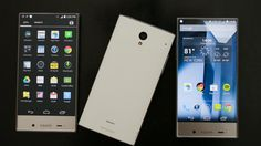 Sharp Aquos Crystal Preview - CNET
