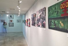 Our students' art is now being displayed in the WHAM museum!