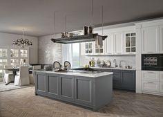 cucina in legno beverly collezione contemporary lifestyle by stosa ... - Cucina Classica Bianca