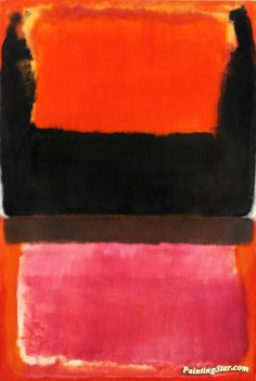 View No. 21 Red, brown, black and orange by Mark Rothko on artnet. Browse upcoming and past auction lots by Mark Rothko. Mark Rothko Paintings, Rothko Art, Van Gogh Paintings, Tachisme, Canvas Art Prints, Oil On Canvas, Brown Canvas, Framed Prints, Modern Art