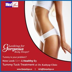 #TummyTuck #surgery, also known as #Abdominoplasty, removes excess #skin, #tightens the #muscles and removes #fat from #abdomen. Abdominoplasty can be combined with other #procedure like #breastsurgery, #armlift #liposuction. https://goo.gl/0C7oCm | info@themedspa.us | 09958221983