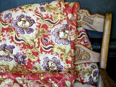 1800s Antique French Quilt .French Boutis by CabArtVintage on Etsy