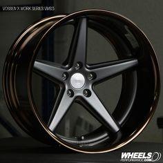 Vossen x Work Series VWS-3 finished in #MatteGraphite centers with #GlossBronzeAnodized Lips @vossen | 1.888.23.WHEEL(94335) Vossen Forged Wheel Pricing & Availability: @WheelsPerformance Authorized Vossen Forged dealer @WheelsPerformance | Worldwide Shipping Available #wheels #wheelsp #wheelsgram #vossen #vossenxwork #vws3 #wpvws3 #workseries #vossenwheels #madeinjapan #teamvossen #wheelsperformance Follow @WheelsPerformance www.WheelsPerformance.com @WheelsPerformance