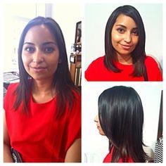 Brandy Lynn - Gold On Grand Salon #short #hair #brunette #layers #Davines #LA #DTLA #GoldOnGrand