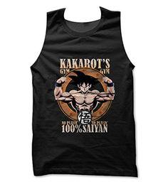Kakarots Gym Vest (BLACK, L) - http://fitness-super-market.com/?product=kakarots-gym-vest-black-l