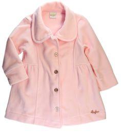 b147b6586c Sobretudo Infantil Soft Rosa - Bugbee
