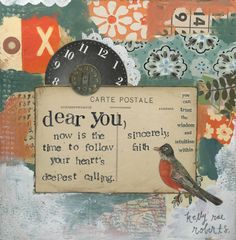 sincerely faith by kelly rae roberts, via Flickr