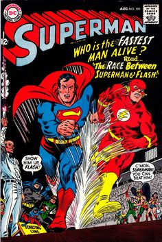 Superman vol 1 #199 | Cover art by Carmine Infantino & Murphy Anderson