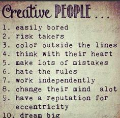 Good #creativity checklist, eh?