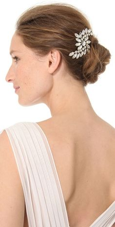 ban. do Crystal Swirl 1920's Bobby Pin  $130.00  Store: Shopbop.com