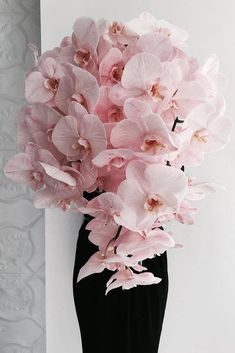 Popular Dusty Rose Wedding Ideas ★ dusty rose wedding bouquet cascading with orchids willow_and_bear Orchid Bouquet Wedding, Dusty Rose Wedding, Floral Wedding, Wedding Flowers, White Orchid Bouquet, Wedding Dresses, Phalaenopsis Orchid, Pink Orchids, Orchid Centerpieces