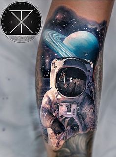 Top Hyper Realistic Tattoo for 2020 Badass Tattoos, Body Art Tattoos, Tattoos For Guys, 16 Tattoo, Alien Tattoo, Tattoo Ink, Space Tattoo Sleeve, Sleeve Tattoos, Galaxy Tattoo Sleeve