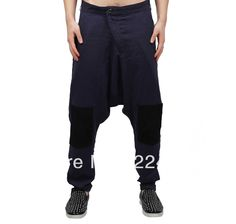 Aliexpress.com : Buy Doma damir linen harem pants men pleated slim trousers big crotch pants trousers zipper thin pants from Reliable jogging pants men suppliers on CHEN'S  STORE. $75.00