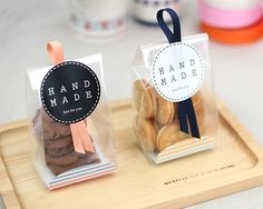 Packaging idea for favors
