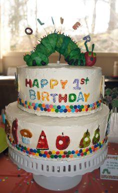 Oliver's 1st birthday cake
