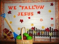 Bible Fun For Kids: Fall Bulletin Boards by Nicole
