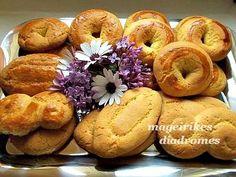 Κουλουράκια της Λαμπρής Greek Easter, Recipe Images, Easter Recipes, Cookie Bars, Bagel, Bread, Cookies, Food, Crack Crackers
