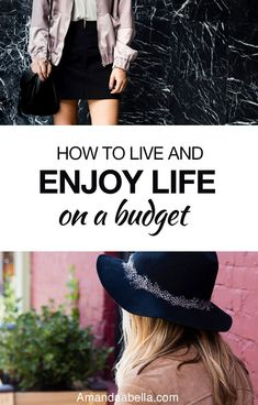 I'm having a lot of fun while still being pretty financially savvy. It just looks different than it used to because I'm in a different stage in my life. This begs the question – how can we be financially savvy and enjoy life on a budget?