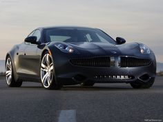 A glimpse towards the future of performance cars, and the car in general? (Fisker Karma)