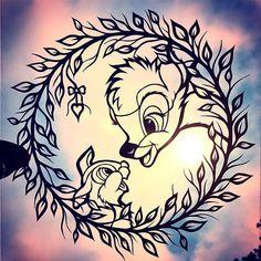 Instagram media by peaceofpaper1 - Papercut Bambi & Thumper cut by hand by me to welcome all my new Disney fan followers ✨✨ #paperart #bambi #thumper #peaceofpaper1 #disneyart #deer #paper #artist #artfido #arts_help #artcollective #artofdrawingg #artgallery #artoftheday #arte #artdaily #artofvisuals #artshelp #cutout #disney #draw #instagram #instaart #tattoo #worldofartists #artlovers #disneynerd #disneyfan #disneylove