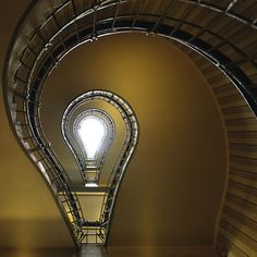 Enlightenment and other stunning images from Germany based photographer Nils Eisfeld who specializes in architecture and stairs. Architecture Details, Interior Architecture, Staircase Architecture, Amazing Architecture, Building Architecture, Interior Design, Design Innovation, Take The Stairs, Stairway To Heaven