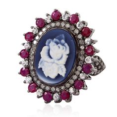 Cameo Gemstone Engagement Ring Jewelry - Cameo Gemstone Engagement ...