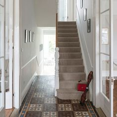 Hallway | Step inside this luxurious white home in south London | House Tours | PHOTO GALLERY | Livingetc | Housetohome