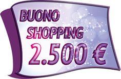 Buono Shopping da 2.500€
